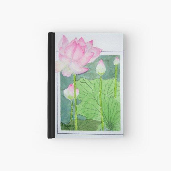 """""""Lotus"""" Hardcover Journal"""