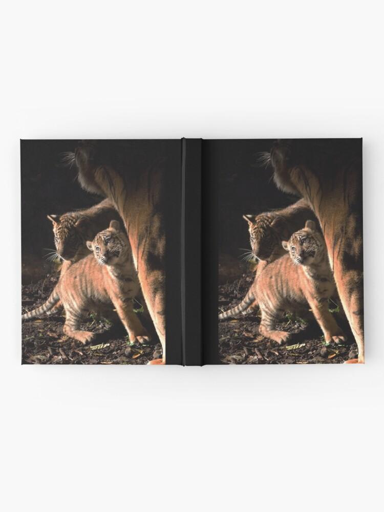 Alternate view of Binjai and 2 of her babies - Rani & Hutan Hardcover Journal