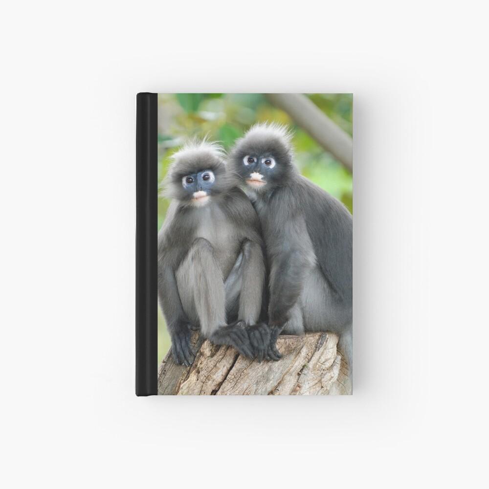 Dusky Leaf Monkeys Hardcover Journal