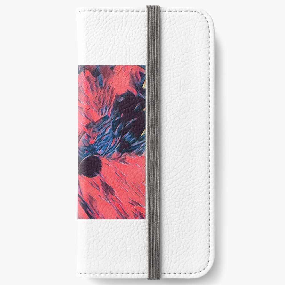 """""""Roses for Madam"""" iPhone Wallet"""