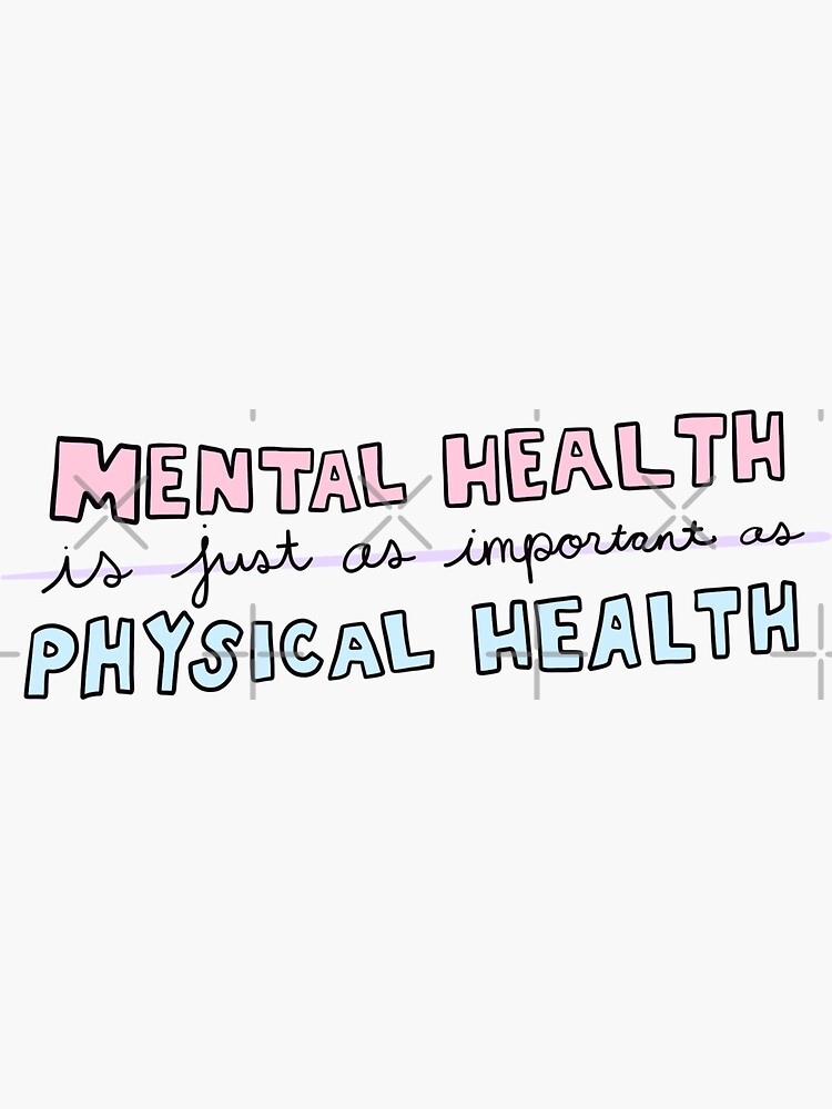 Mental Health Is Important by crystaldraws