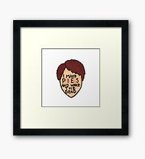 Pushing Daisies - Ned the Piemaker Framed Print