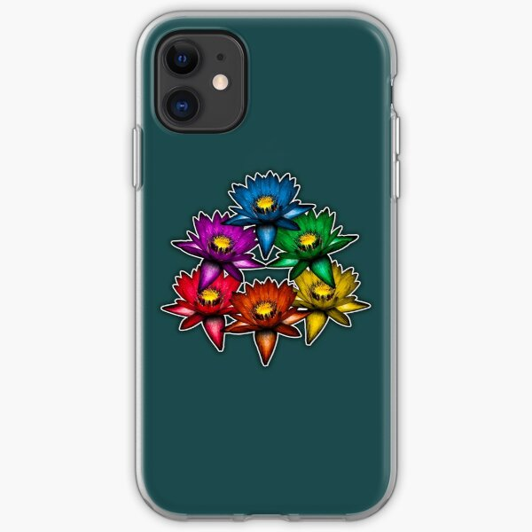 Pride Lilies Pyramid iPhone Soft Case