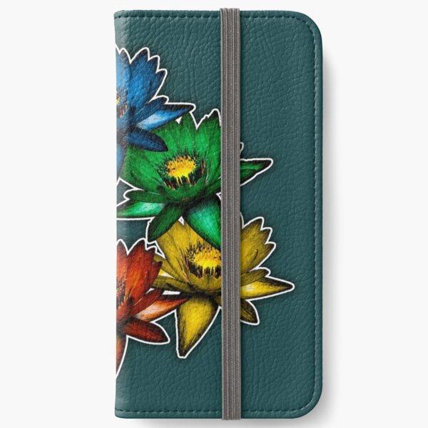 Pride Lilies Pyramid iPhone Wallet