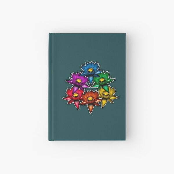 Pride Lilies Pyramid Hardcover Journal