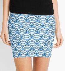 Asian Summer Sky Pattern Mini Skirt