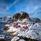 Hamnoy's Golden Glow by John Dekker
