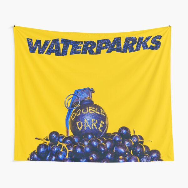 Waterparks Double Dare (Wall Flag size) Tapestry