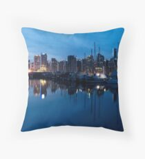 Coal Harbour, Vancouver Throw Pillow