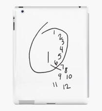 Will Graham Clock iPad Case/Skin