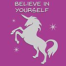 Believe in yourself! by Kitsulie