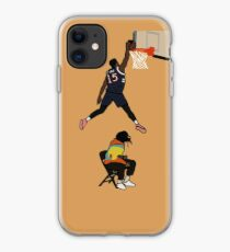 Dennis Smith Jr NBA Slam Dunk Contest Jump Over J Cole - New York Knicks iPhone Case