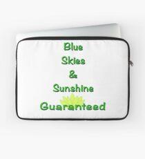 Blue Skies & Sunshine Laptop Sleeve