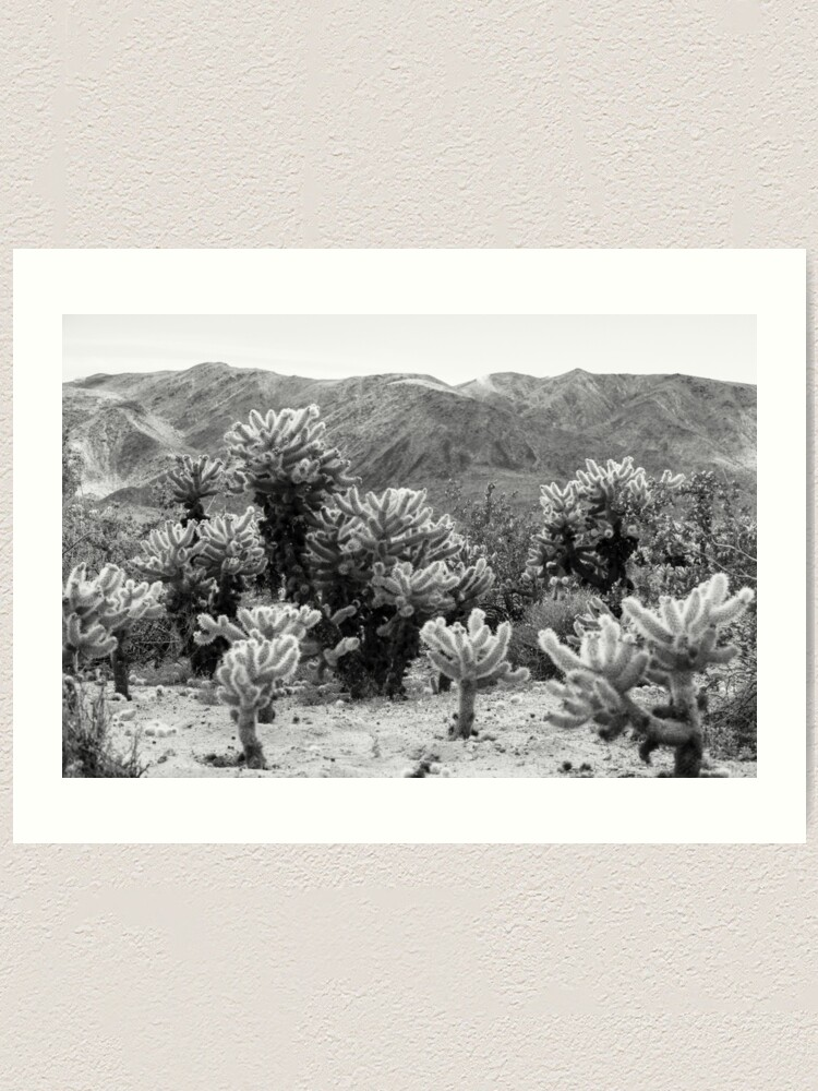 Alternate view of Super Bloom Paradise Joshua Tree 7375 Art Print