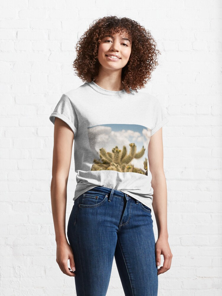 Alternate view of Super Bloom Paradise Joshua Tree 7378 Classic T-Shirt