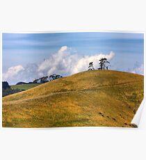 On Golden Hill - South Gippsland Poster