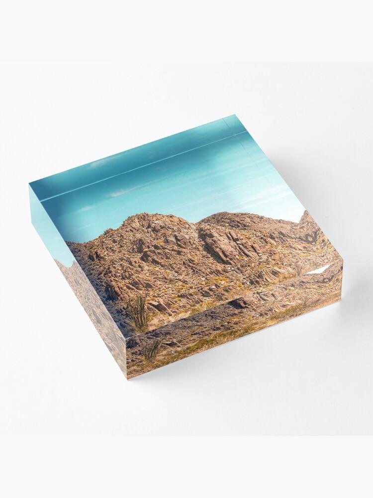 Alternate view of Landscape Joshua Tree 7339 Acrylic Block
