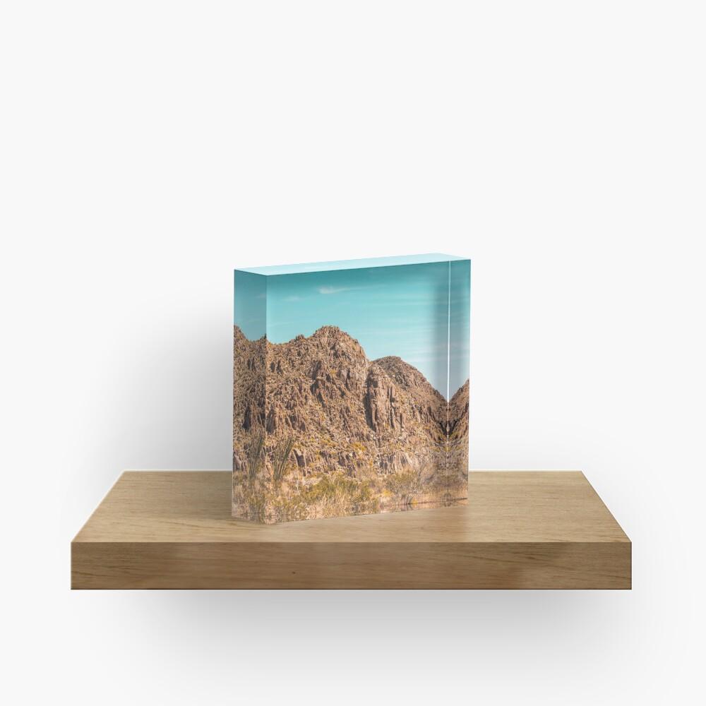 Landscape Joshua Tree 7339 Acrylic Block
