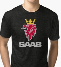 Saab logo products Tri-blend T-Shirt