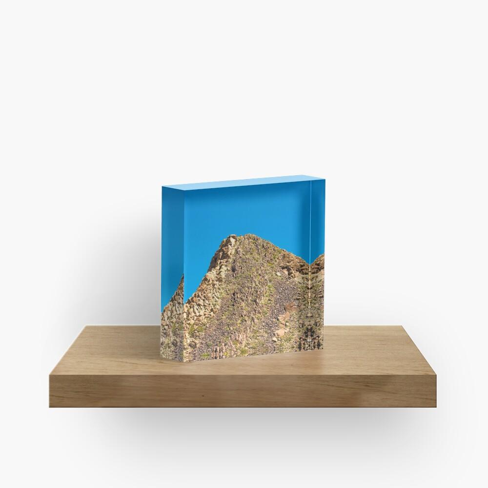 Landscape Joshua Tree 7354 Acrylic Block