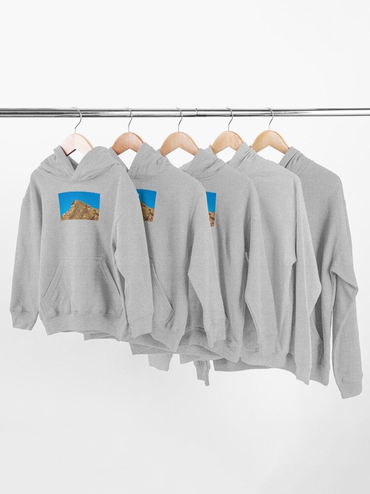 Alternate view of Landscape Joshua Tree 7354 Kids Pullover Hoodie