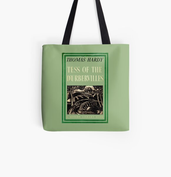 Tess of the D'Urbervilles Thomas Hardy Book Cover All Over Print Tote Bag
