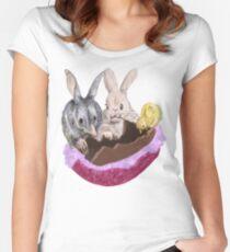 Osterfest Tailliertes Rundhals-Shirt