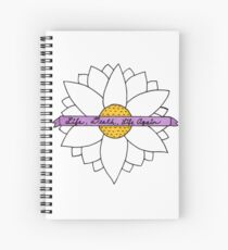 Pushing Daisies - Life, Death, Life Again Spiral Notebook