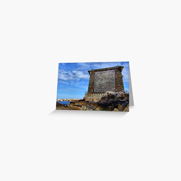 Ligny tower from the sea Greeting Card