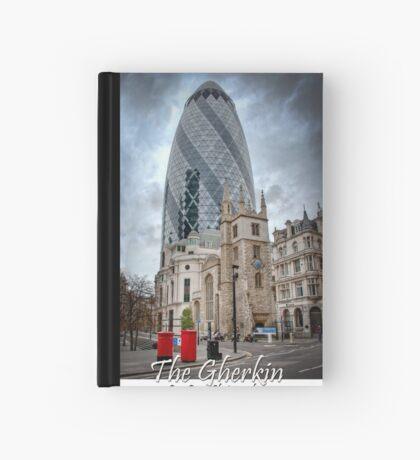 The Gherkin: London, UK. Hardcover Journal