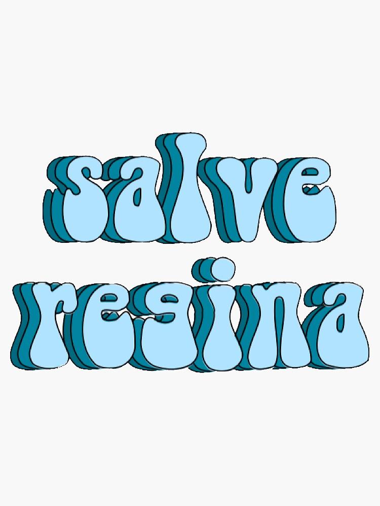 salve regina sticker by abbymonroe8