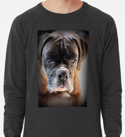 Gehen Sie voran .... Machen Sie meinen Tag ~ Boxer Dogs Series ~ Leichtes Sweatshirt