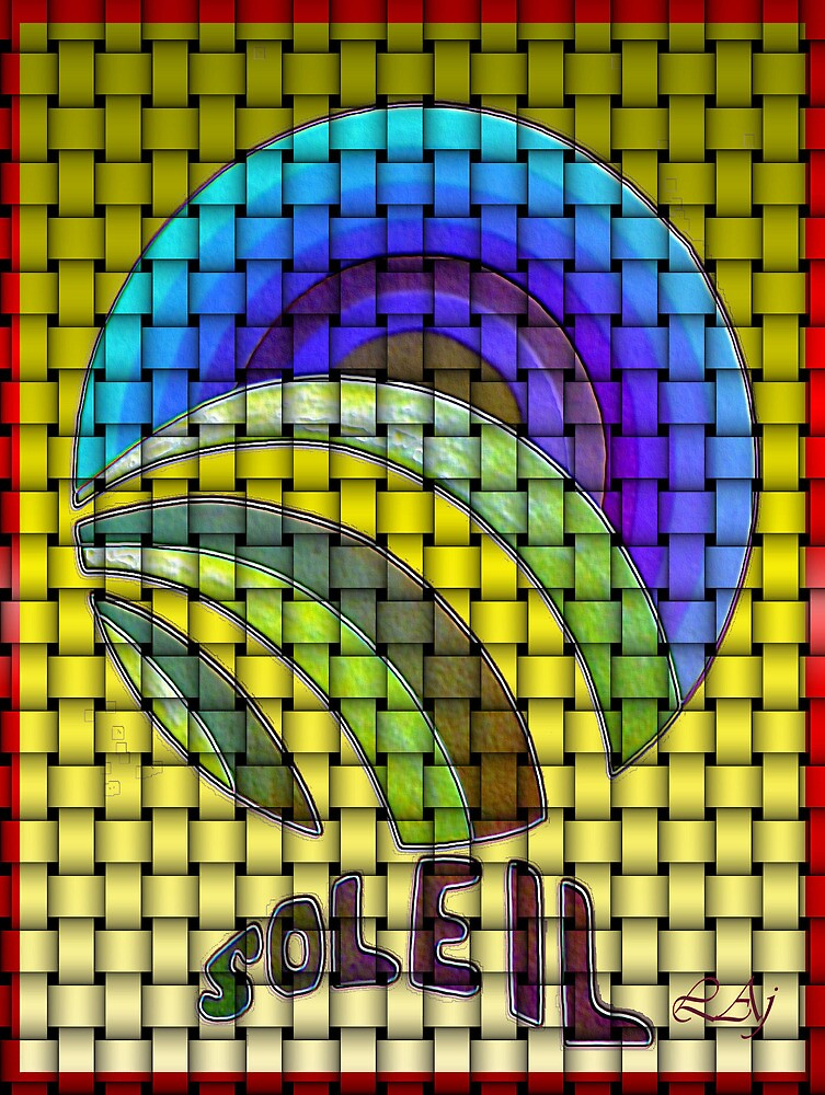 Sun Weaved Purple Soleil by artcor7