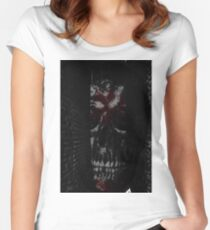 Skull ally Women's Fitted Scoop T-Shirt