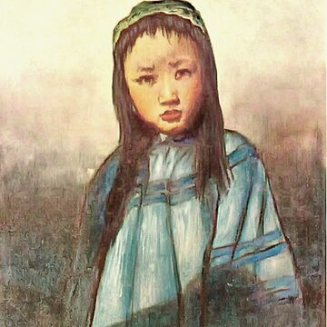 A Young Chinese Girl 1909 by ZipaC