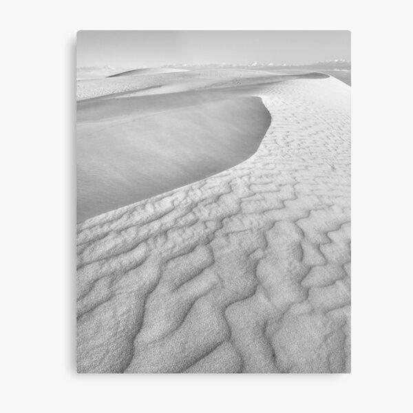 Wind-blown Dune Metal Print