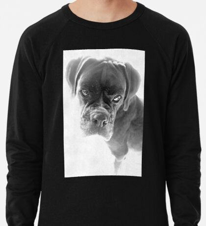 Sie sagen mir, dass ich nicht länger ein Welpe bin - Boxer Dogs Series Leichtes Sweatshirt