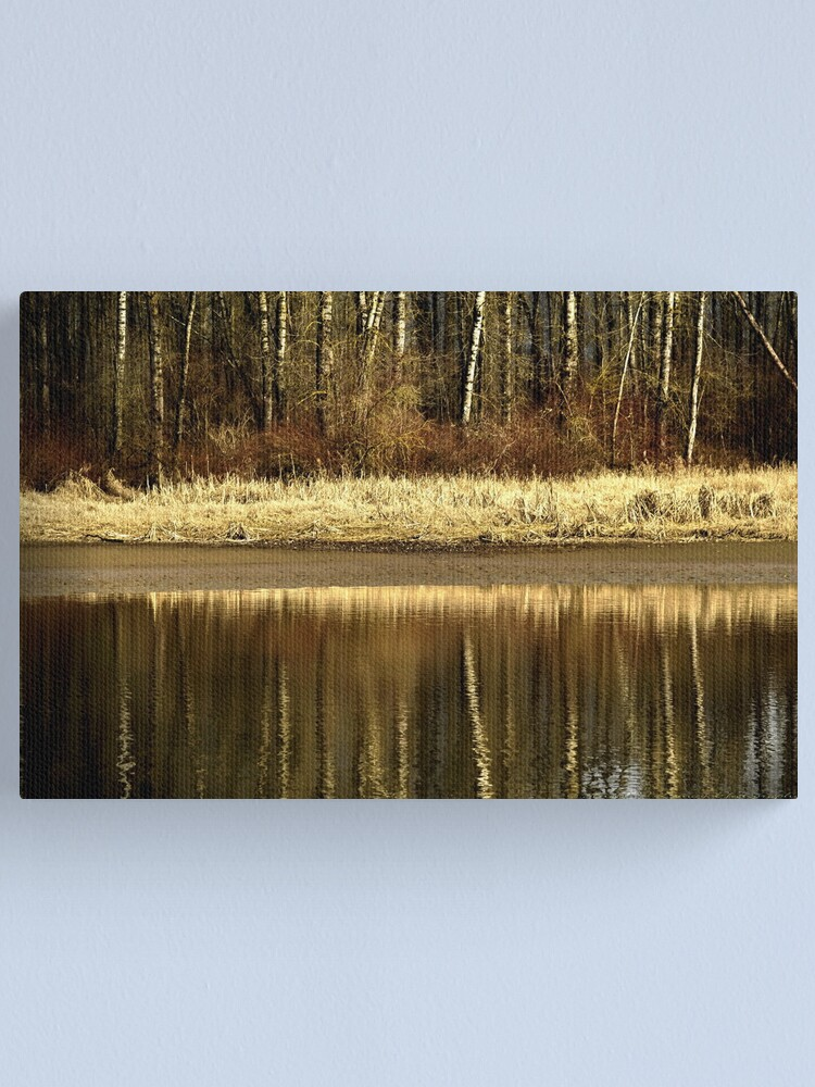 Alternate view of Golden Reflections Canvas Print