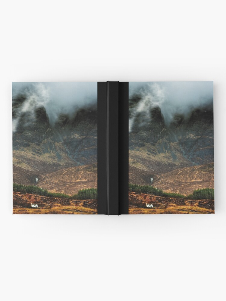 Alternate view of Misty Isle (3) Hardcover Journal