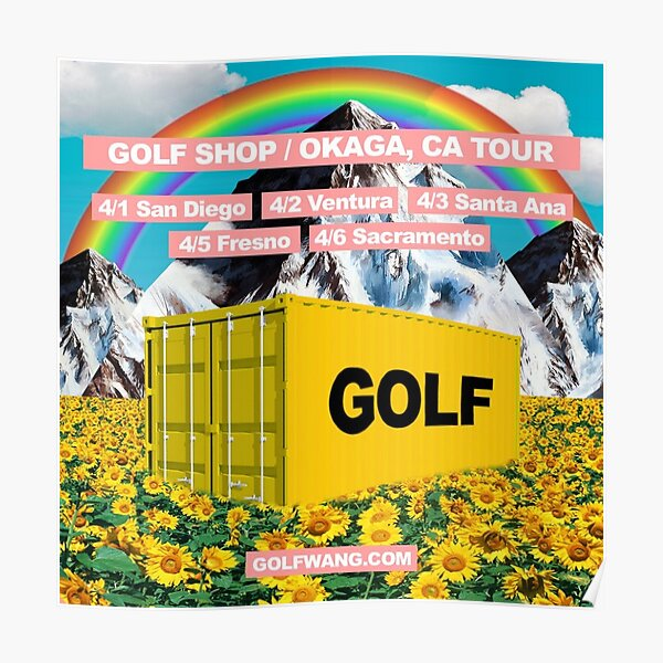 Golf Wang Container Poster