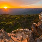 Blue Mountains Sunset by Toddy4x4