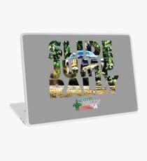 Slide Jump Rally - Colour/Grey Laptop Skin