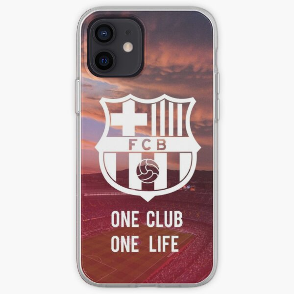 FC Barcelona iPhone Soft Case