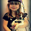 Portrait ~ Girl And Dog ~ von Evita