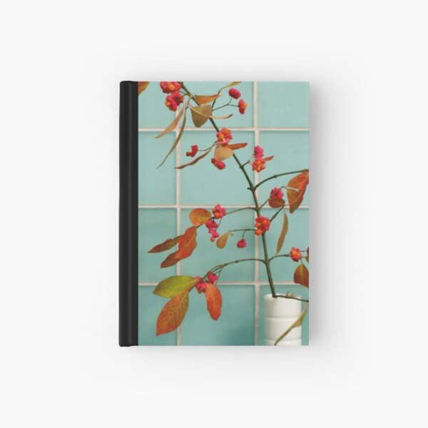 Autumn Twig and Tiles Hardcover Journal