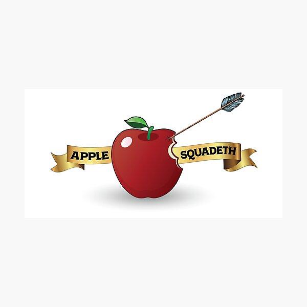 Apple Squadeth Photographic Print