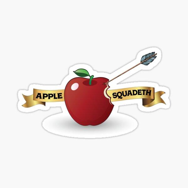 Apple Squadeth Sticker
