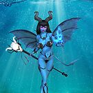 Demon beneath the waves by LoneAngel