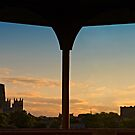 Sunset over Durham Cathedral & Castle by David Lewins