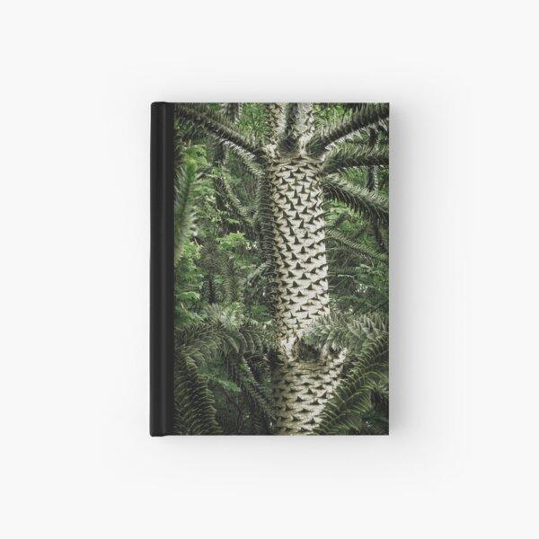 Monkey Puzzle Tree Hardcover Journal